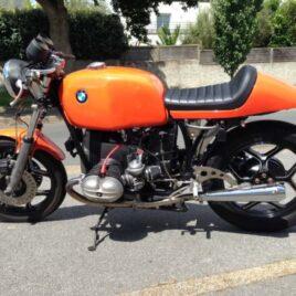 Selle Flat Racer sur BMW